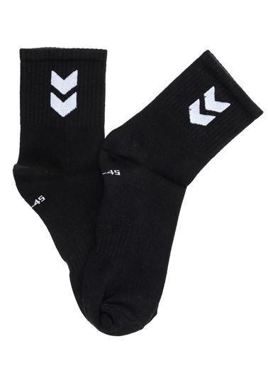 Hummel Spor Çorap|2'li Çorap Siyah